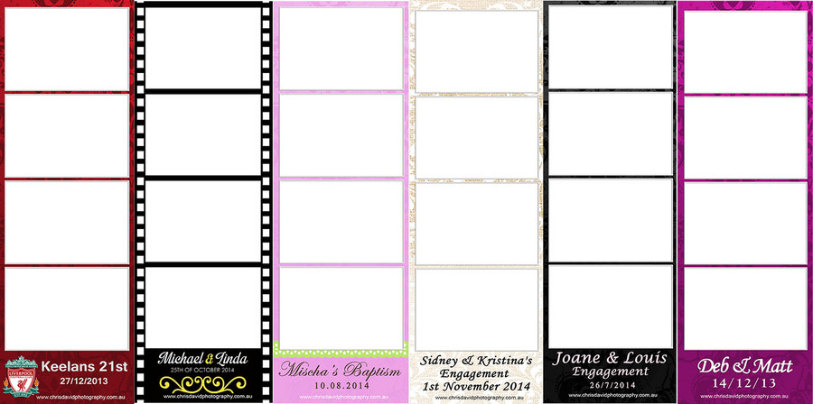 Booth Strip Samples 2